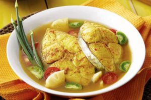 Makanan Khas Belitung - Gangan Ikan yang Sangat Gurih dan Nikmat