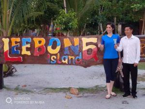 Ramah tamah dan foto bersama di Leebong Island
