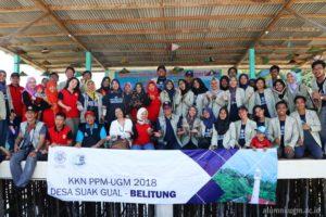 Dukungan KAGAMA Belitung dalam program KKN UGM 2018