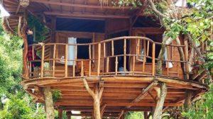 Kenyamanan Zarra Treehouse Villa Pulau Leebong yang menjadi salah satu icon pariwisata Belitung