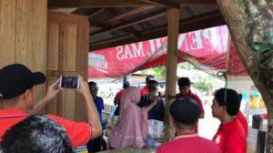 vice president ict network pt. telkomsel area  mengunjungi desa kawasan pulau belitung
