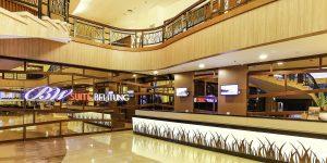 Lobby BW Suites Hotel yang sangat elegan dan mewah