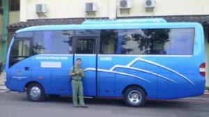 Bus Wisata dari Damri yang Nyaman
