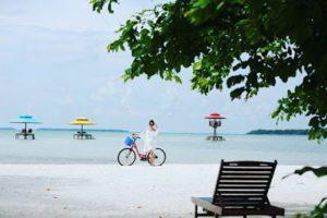 Pulau Leebong yang membawa angin segar pariwisata Belitung.