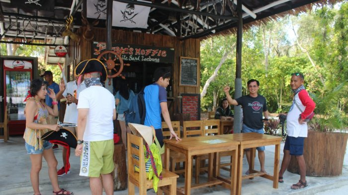 Pirate Coffee White Sand Leebong Kedai Kopi Penuh Sensasi Belitunginfo