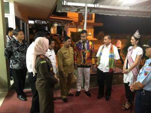Penerbangan Reguler dari Singapura ke Belitung baru-baru ini.