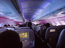 Air Asia  tipe Air Bus A320 dengan kapasitas penumpang 180 seat