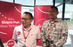 Direktur Niaga PT Air Asia Indonesia Tbk, Rifai Taberi