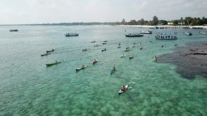 belitong geopark international stand up paddle kayak marathon 2019