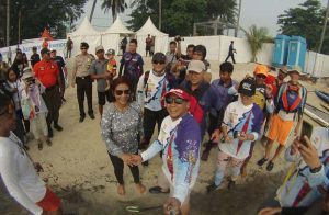 Event menjadi semakin spesial, sebab Menteri Kelautan dan Perikanan Susi Pudjiastuti akan hadir