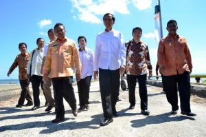 Presiden Joko Widodo direncanakan akan meresmikan Kawasan Ekonomi Khusus (KEK) Belitung di Tanjung Binga pada 16 Maret 2019