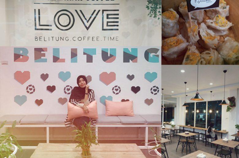 Suasana dan menu Ngelakar Cofee Foto: Ichsan