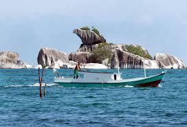 Pulau Burung, Pulau yang terlihat seperti kepala burung di Tanjung Kelayang Belitung