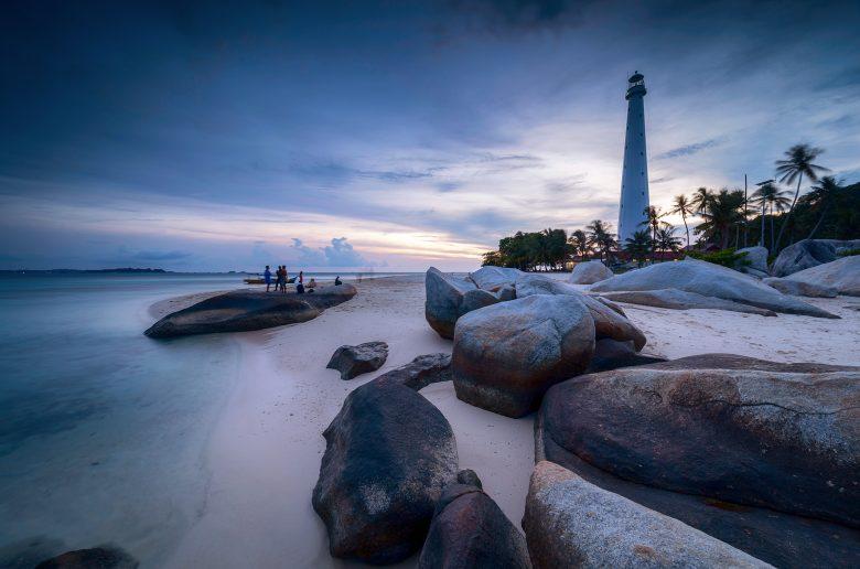 Pulau Lengkuas di Belitung