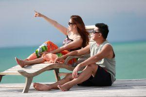 Pulau Leebong sangat dikenal kalangan luas sebagai pulau romantis dan privasi wisatawan terjaga aman