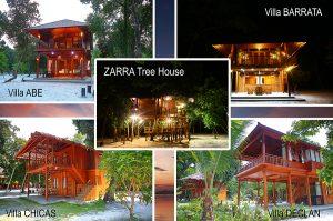 Pilihan menginap di pulau ini. Untuk keterangan kunjungi www.leebongisland.com