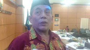 Wakil Ketua Dewan Perwakilan Daerah Republik Indonesia (DPD RI) Komite IV, Ir Ayi Hambali, saat dijumpai di ruang sidang Pemerintah Kabupaten Belitung