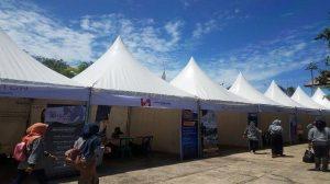 Suasana kegiatan Festival Tanjung Kelayang, Jumat (15/11/2019) di Pondopo Tanjung Kelayang Desa Keciput, Kecamatan Sijuk, Kabupaten Belitung.